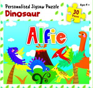 Personalised Jigsaw Puzzle Alfie