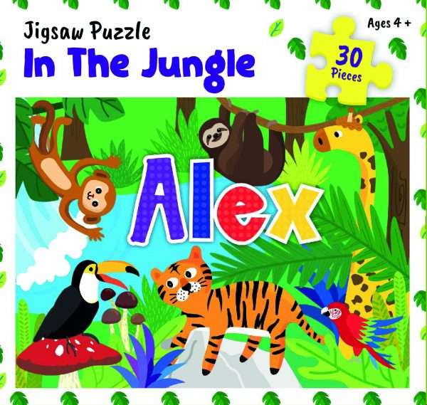 Personalised Jigsaw Puzzle Alex