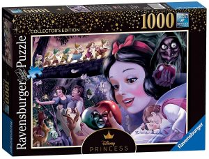 Disney Collectors Edition Jigsaw Puzzle Snow White Heroines