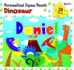 Personalised Jigsaw Puzzle Daniel