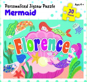 Personalised Jigsaw Puzzle Florence