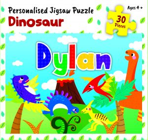 Personalised Jigsaw Puzzle Dylan