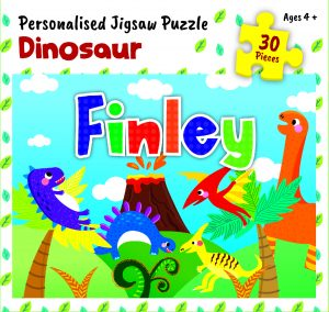 Personalised Jigsaw Puzzle Finley