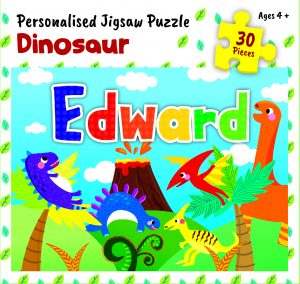 Personalised Jigsaw Puzzle Edward