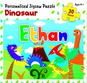 Personalised Jigsaw Puzzle Ethan