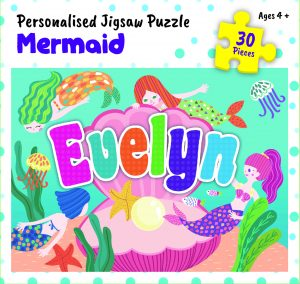 Personalised Jigsaw Puzzle Evelyn