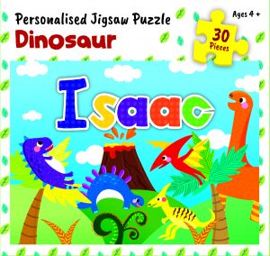 Personalised Jigsaw Puzzle Isaac