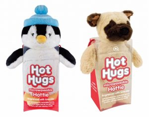 Hot Hugs Lavender Fragranced Microwaveable Hottie