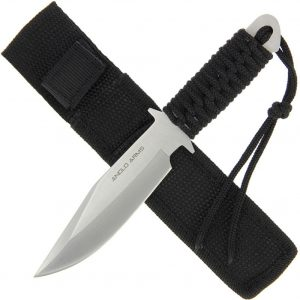 Anglo Arms 7 Inch Black Laced Knife