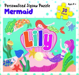 Personalised Jigsaw Puzzle Lily