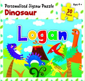 Personalised Jigsaw Puzzle Logan