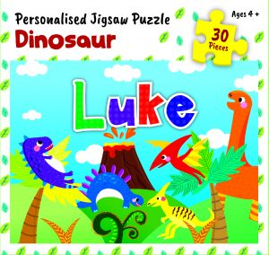 Personalised Jigsaw Puzzle Luke