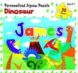 Personalised Jigsaw Puzzle James