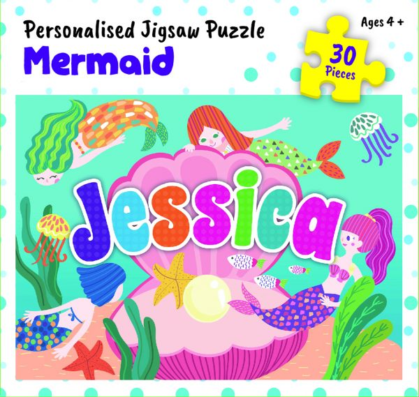 Personalised Jigsaw Puzzle Jessica