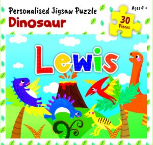 Personalised Jigsaw Puzzle Lewis