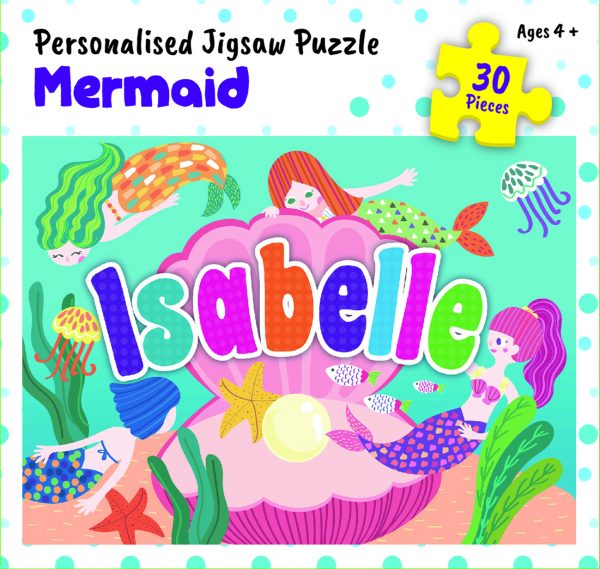 Personalised Jigsaw Puzzle Isabelle