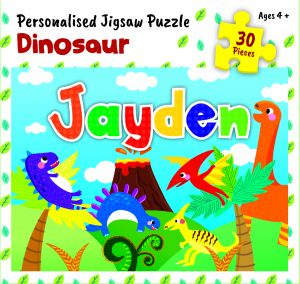 Personalised Jigsaw Puzzle Jayden