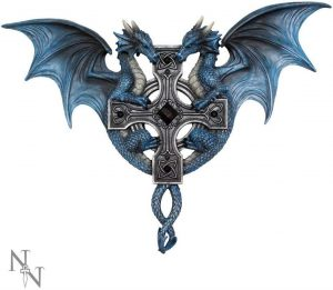 Dragon Duo Wall Plaque