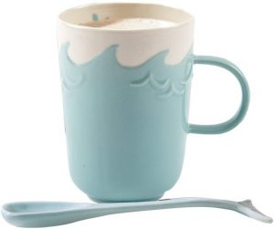 Whale Mug with Spoon