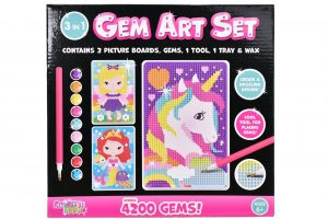 Kreative Kids 3 in 1 Gem Art Set