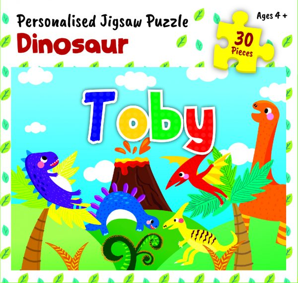 Personalised Jigsaw Puzzle Toby