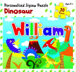 Personalised Jigsaw Puzzle William