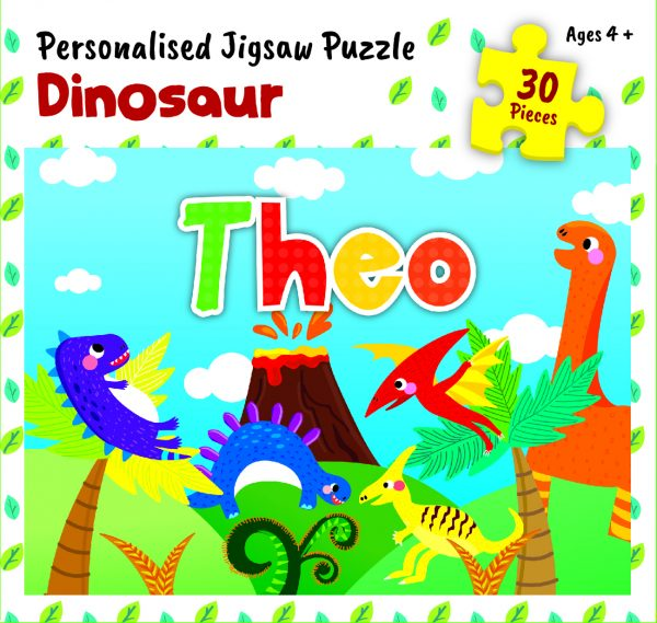 Personalised Jigsaw Puzzle Theo