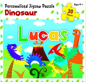 Personalised Jigsaw Puzzle Lucas