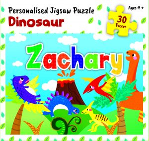 Personalised Jigsaw Puzzle Zachary