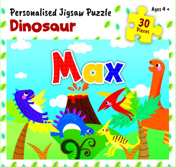 Personalised Jigsaw Puzzle Max