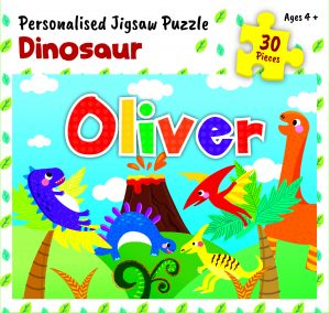 Personalised Jigsaw Puzzle Oliver