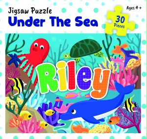 Personalised Jigsaw Puzzle Riley