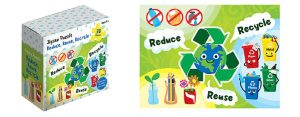Childrens Jigsaw Puzzle Reduce - Reuse - Recycle