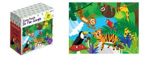 Childrens Jigsaw Puzzle In The Jungle