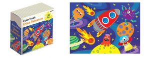 Childrens Jigsaw Puzzle Space Adventure