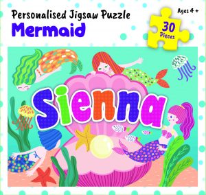 Personalised Jigsaw Puzzle Sienna
