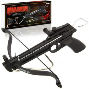 Anglo Arms 80lb Draw Weight Scorpion Aluminium Pistol Crossbow With 3 Bolts