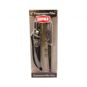 Rapala Grey Presentation Fillet Knife With 6 Inch Marttiini Blade