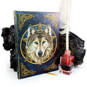 Embossed Journal The Wild One by Lisa Parker
