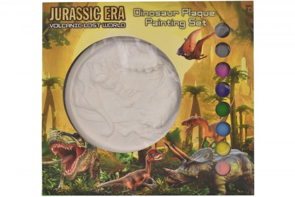 Kreative Kids Jurassic Era Dinosaur Plaque Painting Set
