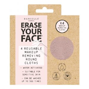 Erase Your Face Eco Friendly Reusable Makeup Removing Round Cloths