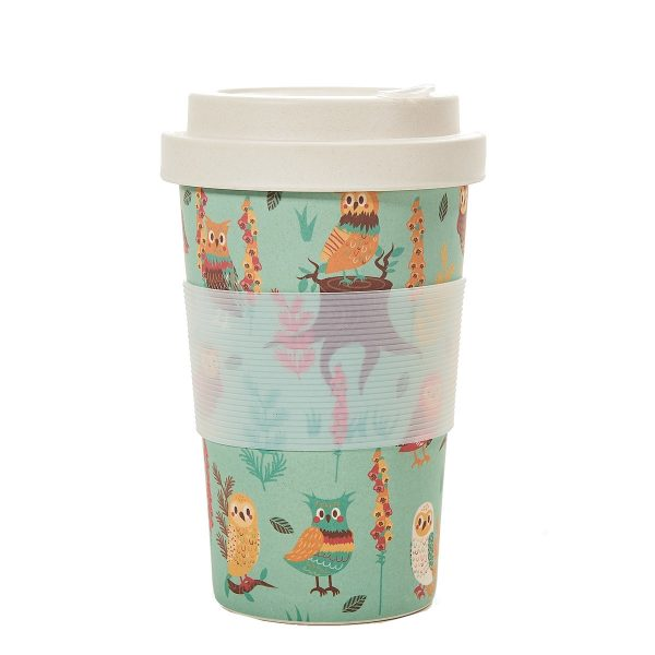 Eco Chic Reusable Bamboo Coffee Cup