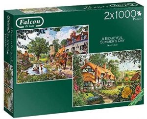 Jigsaw Puzzle A BEAUTIFUL SUMMERS DAY