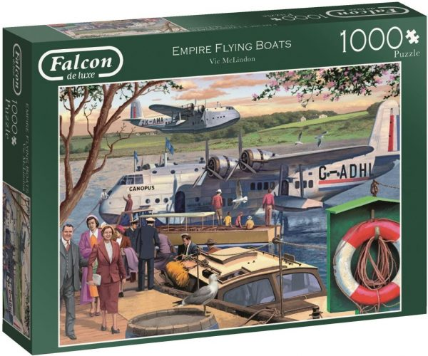Jigsaw Puzzle EMPIRE FLYING BOATS