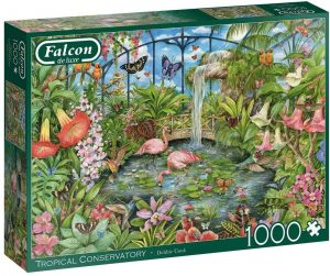 Jigsaw Puzzle TROPICAL CONSERVATORY
