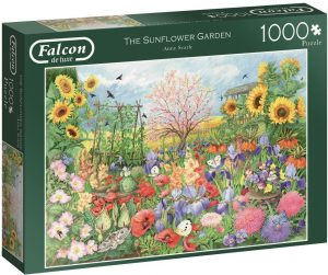 Jigsaw Puzzle THE SUNFLOWER GARDEN
