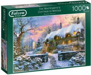 Jigsaw Puzzle THE WHITESMITHS COTTAGE IN WINTER