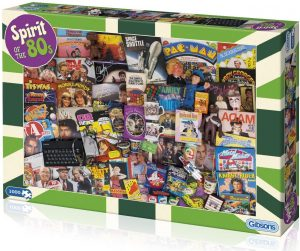 Jigsaw Puzzle SPIRIT OF THE 80s