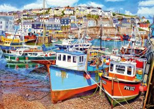 Mevagissey Harbour Jigsaw Puzzle