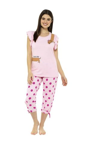 Ladies Sausage Dog Range of Nightwear